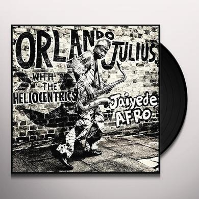 Orlando Julius & The Heliocentrics JAIYEDE AFRO Vinyl Record - w/CD, Gatefold Sleeve