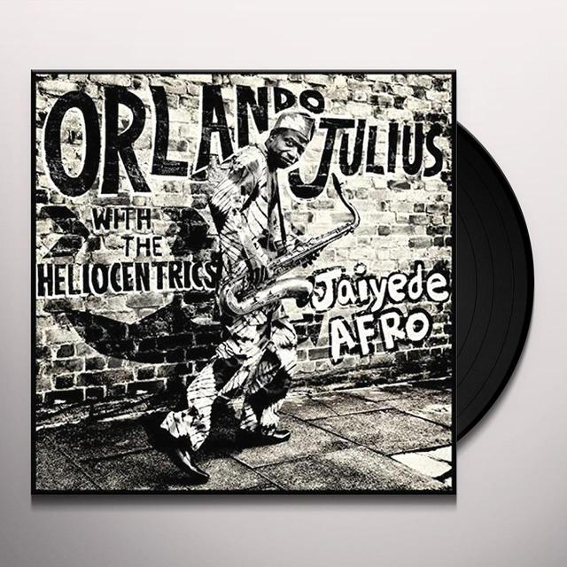 Orlando Julius & The Heliocentrics JAIYEDE AFRO Vinyl Record - w/CD, Gatefold Sleeve