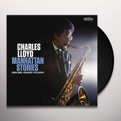 Charles Lloyd MANHATTAN STORIES Vinyl Record - Gatefold Sleeve