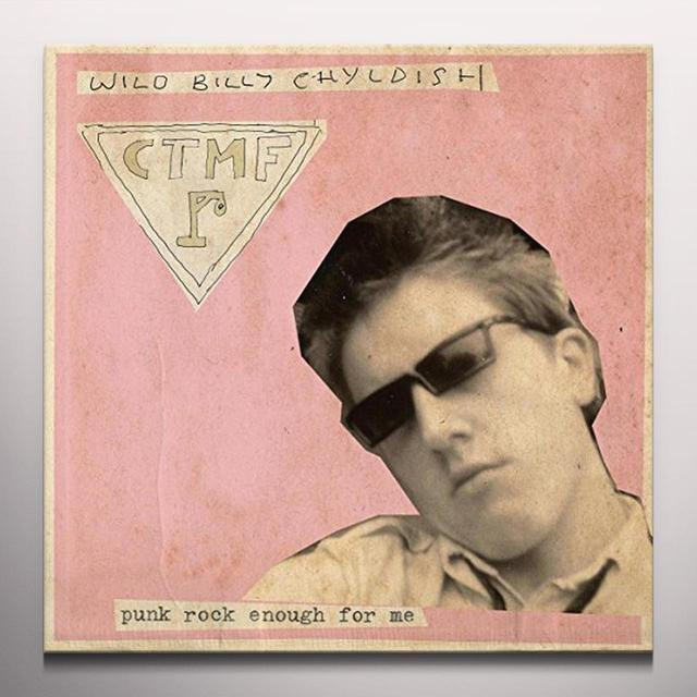 Wild Billy Childish & Ctmf PUNK ROCK ENOUGH FOR ME B/W ZERO EMISSION Vinyl Record - Brown Vinyl