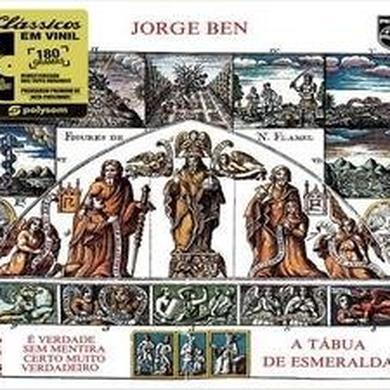 Jorge Ben TABUA DE ESMERALDA Vinyl Record
