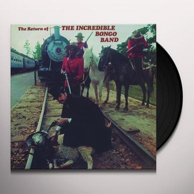 RETURN OF THE INCREDIBLE BONGO BAND Vinyl Record