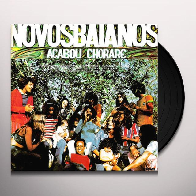 Novos Baianos ACABOU CHORARE Vinyl Record