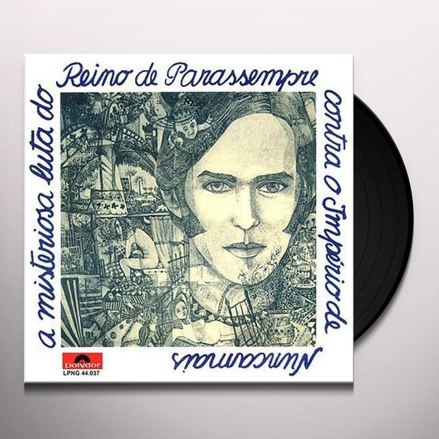 Ronnie Von MISTERIOSA LUTA DO REINO DE PARA SEMPRE CONTRA Vinyl Record