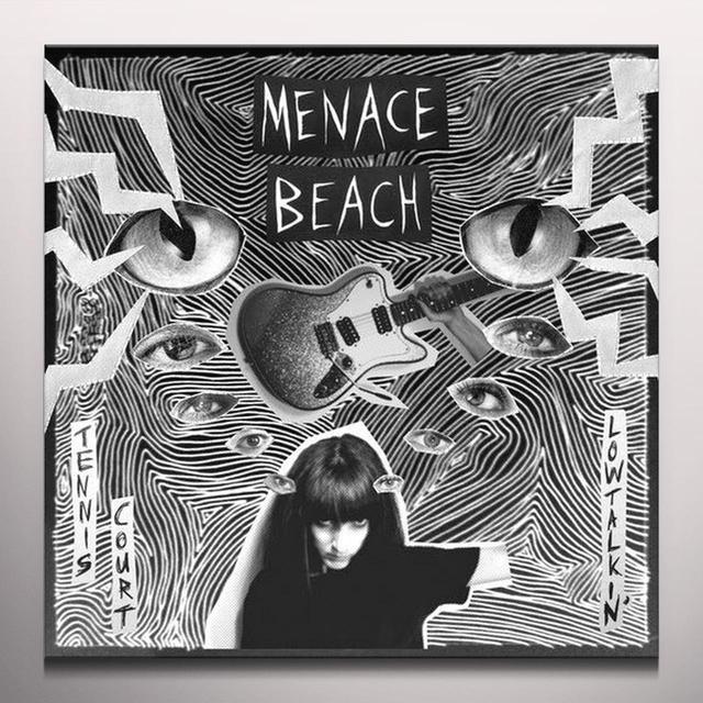 Menace Beach TENNIS COURT / LOWTALKIN Vinyl Record - Clear Vinyl, Digital Download Included