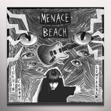 Menace Beach TENNIS COURT / LOWTALKIN Vinyl Record - Clear Vinyl, Digital Download Included