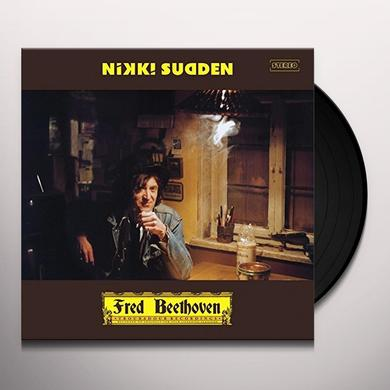 Nikki Sudden FRED BEETHOVEN Vinyl Record