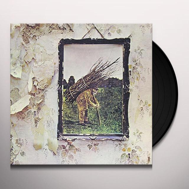 LED ZEPPELIN IV Vinyl Record - 180 Gram Pressing, Remastered