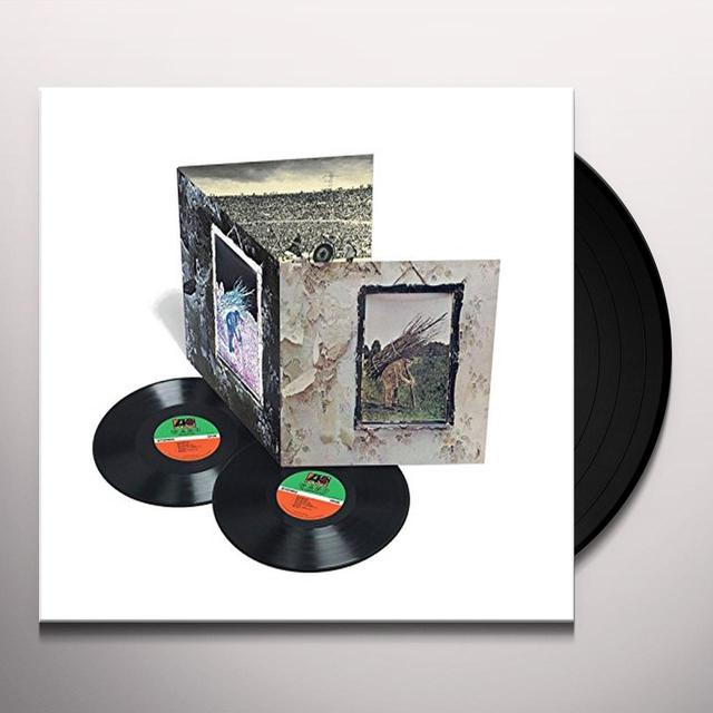 LED ZEPPELIN IV Vinyl Record - 180 Gram Pressing, Deluxe Edition, Remastered