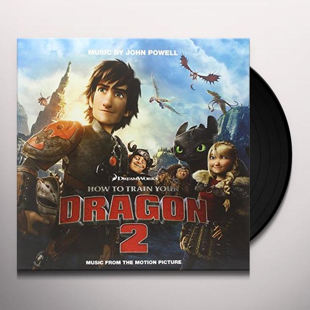 How To Train Your Dragon 2 / O.S.T. (Hol) HOW TO TRAIN YOUR DRAGON 2 / O.S.T. Vinyl Record - Holland Import