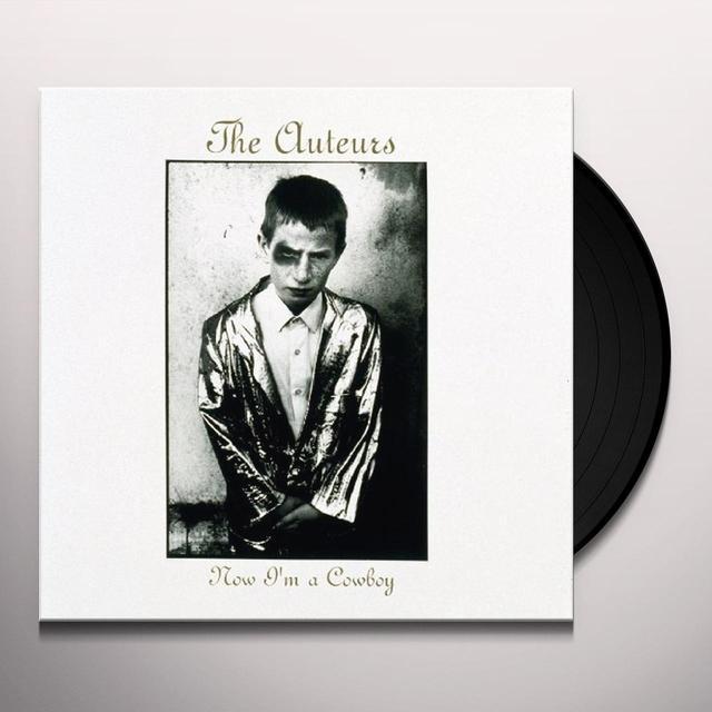 The Auteurs NOW IM A COWBOY Vinyl Record - UK Import