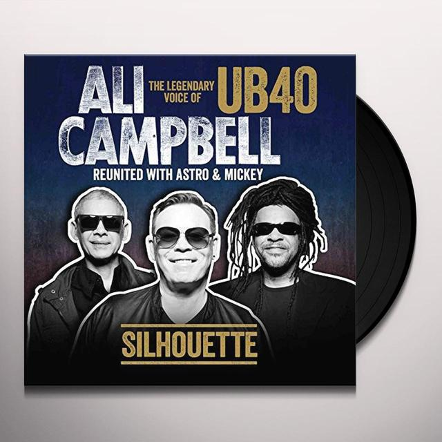 Ali Campbell SILHOUETTE Vinyl Record - UK Import