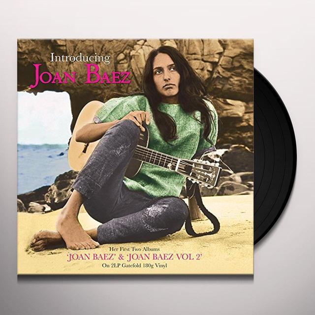 Joan Baez INTRODUCING Vinyl Record - UK Import