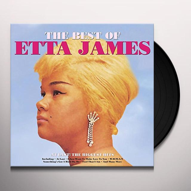 Etta James BEST OF Vinyl Record