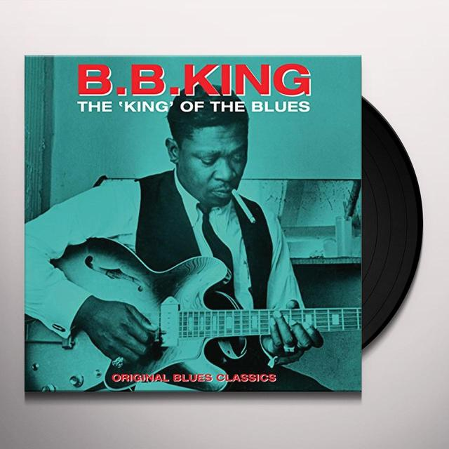 B.B. King KING OF THE BLUES Vinyl Record - UK Release
