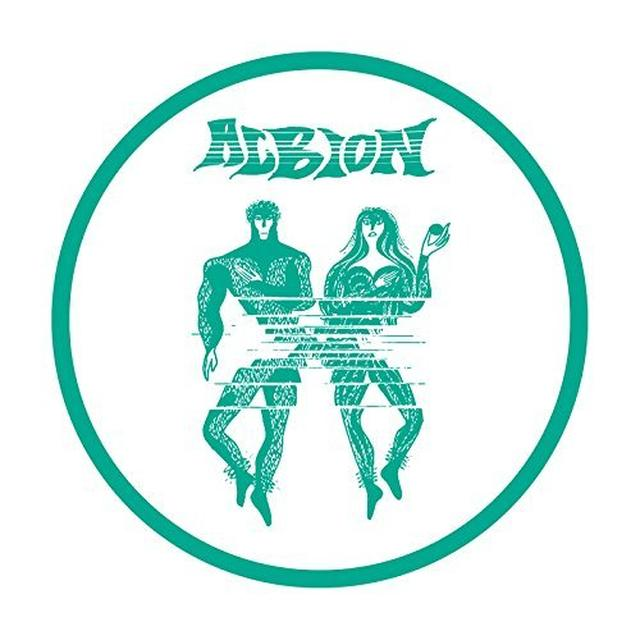 Albion BURNING DISCO Vinyl Record - UK Release