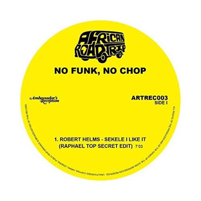 No Funk No Chop (Various Uk) NO FUNK NO CHOP / VARIOUS Vinyl Record - UK Release