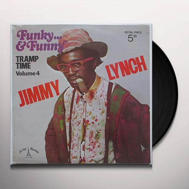 Jimmy Lynch FUNKY & FUNNY-TRAMP TIME 4 Vinyl Record - UK Import