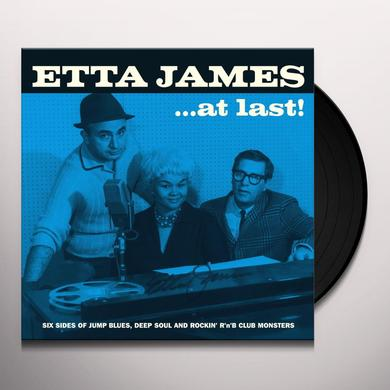 Etta James AT LAST Vinyl Record - UK Release