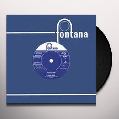 Diana Dors SO LITTLE TIME/IT'S TOO LATE Vinyl Record - Holland Import