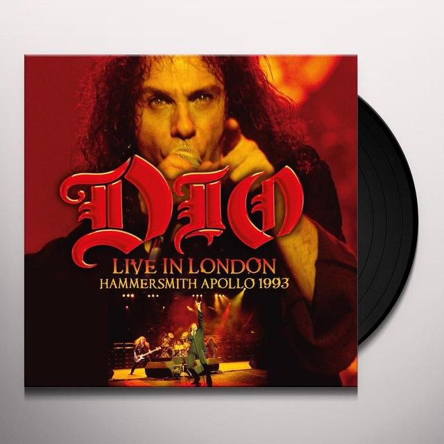 Dio LIVE IN LONDON: HAMMERSMITH APOLLO 1993 Vinyl Record - UK Release