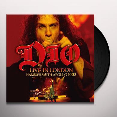 Dio LIVE IN LONDON: HAMMERSMITH APOLLO 1993 Vinyl Record - UK Import