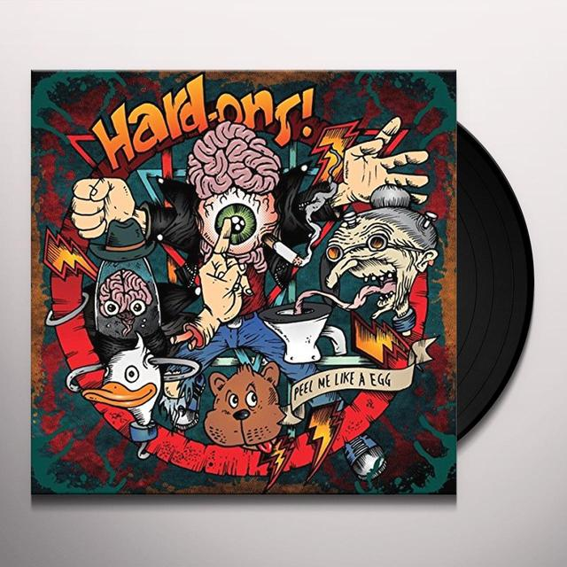 Hard-Ons PEEL ME LIKE AN EGG Vinyl Record - UK Release