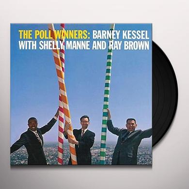 Barney Kessel with Shelly Manne and Ray Brown POLL WINNERS Vinyl Record