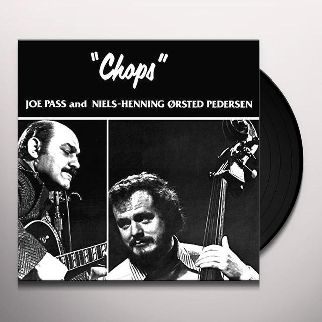Joe Pass & Niels-Henning Orsted Pedersen CHOPS Vinyl Record