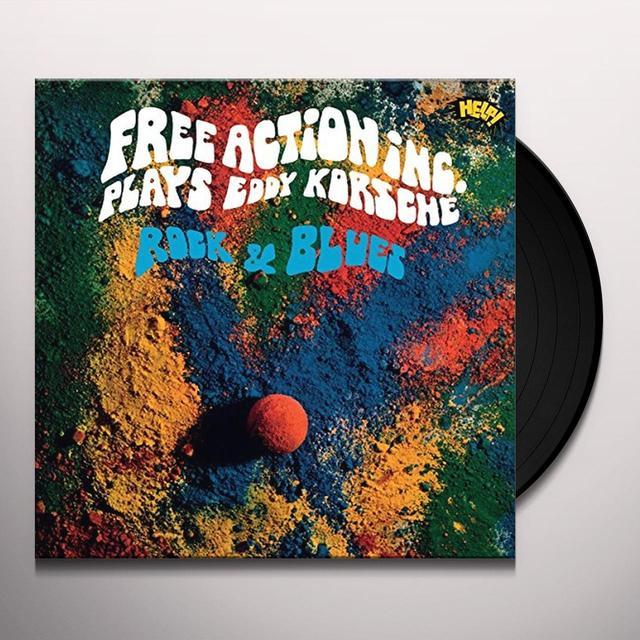 Free Action Inc. PLAYS EDDY KORSCHE ROCK & BLUES Vinyl Record - Black Vinyl, 180 Gram Pressing, Deluxe Edition