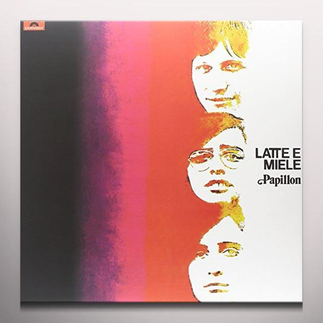 Latte E Miele PAPILLON Vinyl Record - Gatefold Sleeve, Limited Edition, Red Vinyl