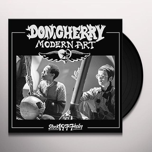 Don Cherry MODERN ART: LIVE IN STOCKHOLM 1977 Vinyl Record
