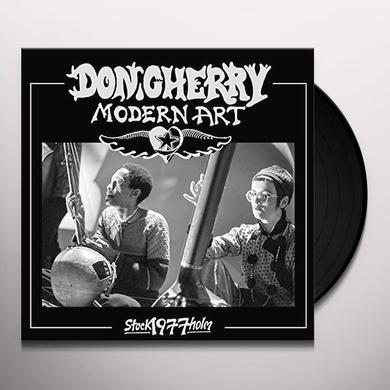Don Cherry MODERN ART: LIVE IN STOCKHOLM 1977 Vinyl Record