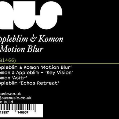 Appleblim & Komon MOTION BLUR Vinyl Record