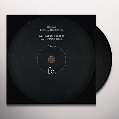 Seekae TEST & RECOGNISE REMIXES Vinyl Record