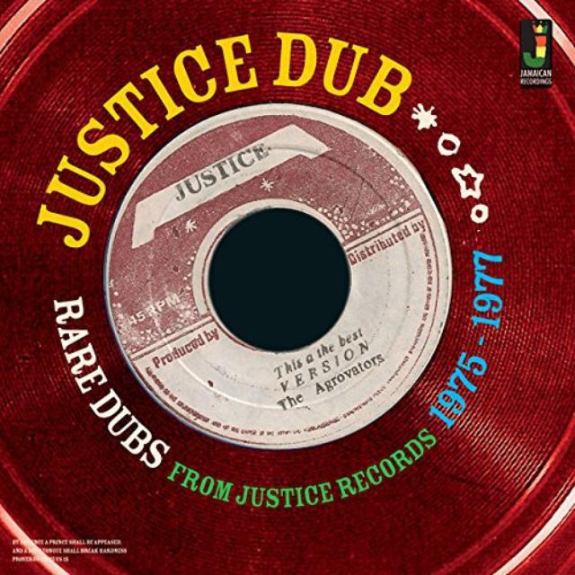JUSTICE DUB: RARE DUBS FROM JUSTICE 1975 / VAR Vinyl Record