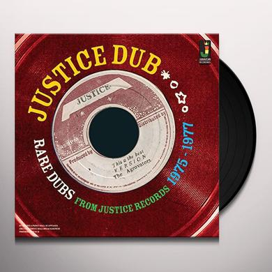 JUSTICE DUB: RARE DUBS FROM JUSTICE 1975 / VAR Vinyl Record