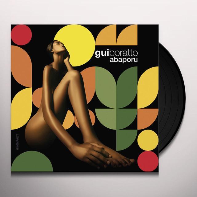 Gui Boratto ABAPORU Vinyl Record - w/CD