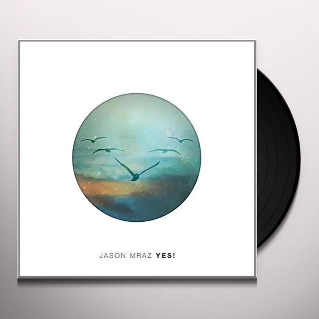 Jason Mraz YES Vinyl Record