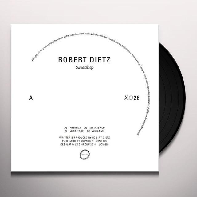 Robert Dietz SWEATSHOP Vinyl Record