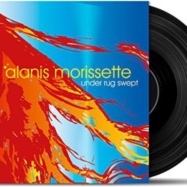 Alanis Morissette UNDER RUG SWEPT Vinyl Record