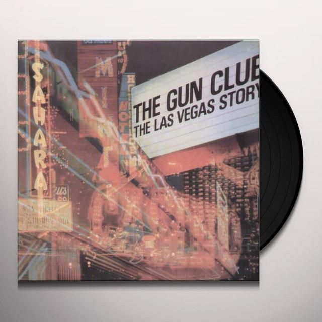 The Gun Club LAS VEGAS STORY Vinyl Record