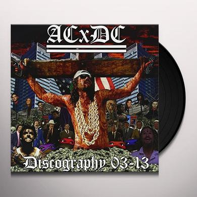Acxdc DISCOGRAPHY 03-13 Vinyl Record - Picture Disc