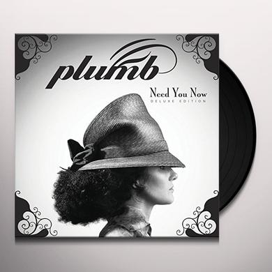 Plumb NEED YOU NOW Vinyl Record - 180 Gram Pressing, Deluxe Edition, Digital Download Included