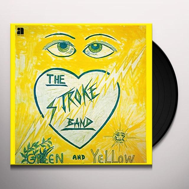 Stroke Band GREEN & YELLOW Vinyl Record - Digital Download Included