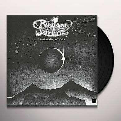 Rudiger Lorenz INVISIBLE VOICES Vinyl Record - Digital Download Included