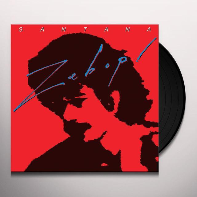 Santana ZEBOP Vinyl Record