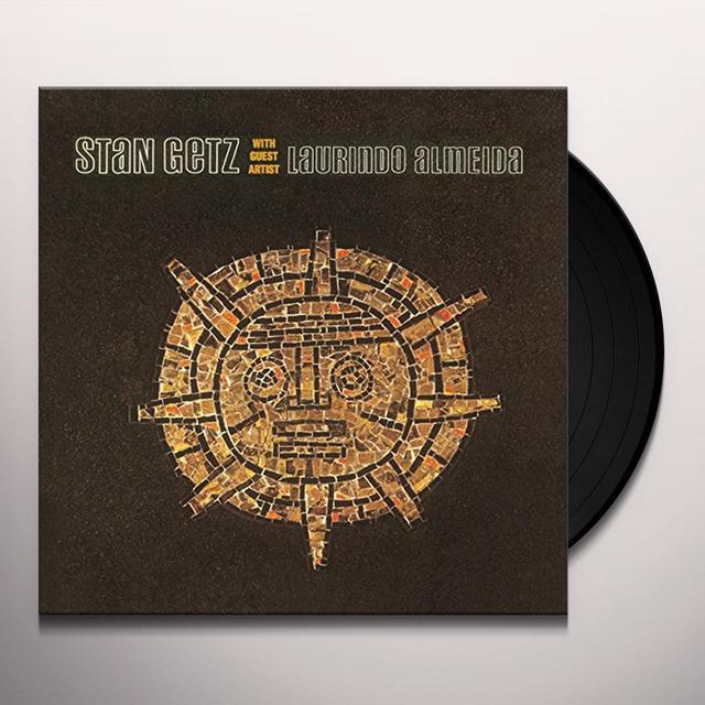 STAN GETZ WITH GUEST ARTIST LAURINDO ALMEIDA Vinyl Record