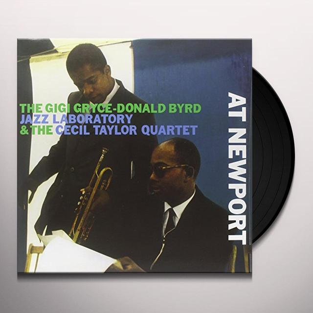 Gigi Gryce / Donald Jazz Laborator Byrd AT NEWPORT Vinyl Record
