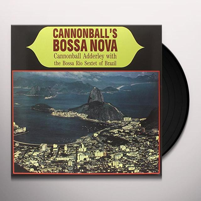 Cannonball Adderley CANNONBALLS BOSSA NOVA Vinyl Record